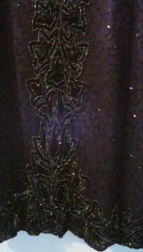 Pure Vintage Robe Silk Top Sequinned tr Lyndella qdwSgCnq
