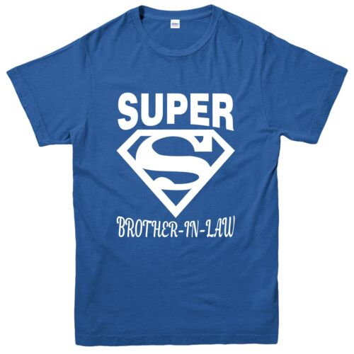 Love Inspired Design Tee Top Super Brother-in-law T-Shirt Birthday Gift Diamond