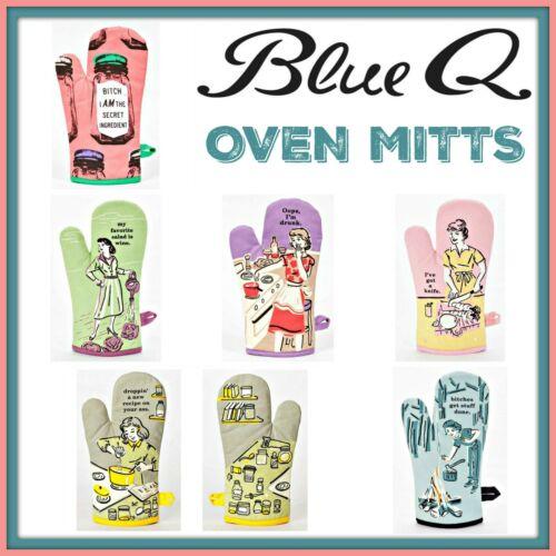 Bleu Q Cuisine Four Mitt 100/% coton hôte Hôtesse Bridal Shower Cadeau De Mariage AVF