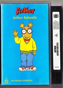 Arthur-Arthur-Babysits-VHS-Video-Tape-Vintage