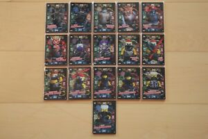 Lego-Ninjago-Serie-3-Black-Foil-Karten-235-250-aussuchen-Sammelkarten