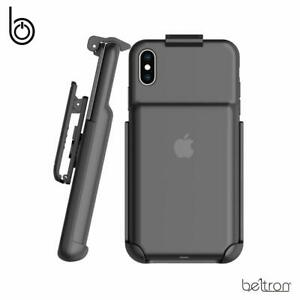 super popular e4a5c 41f08 Details about Belt Clip Holster for Apple Smart Battery Case for Apple  iPhone X iPhone Xs