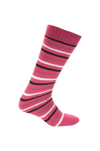 Mountain Warehouse Patterned Ski Socks Fine Toe Seam to Ensure Comfort One Size