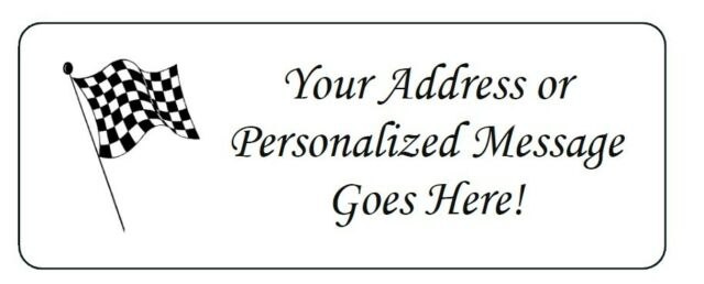 30 Custom Shamrock Heart Personalized Address Labels