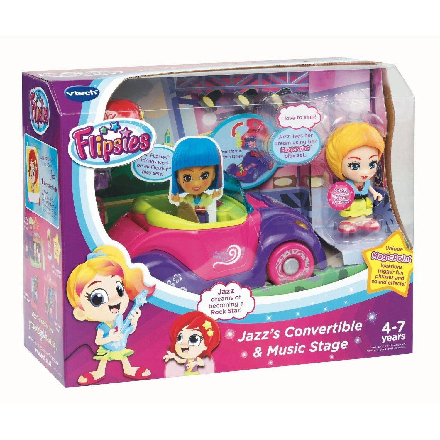 VTech Jazz's Congreenible and Music Stage Playset