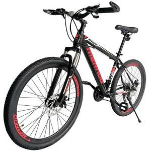 """Mountain Bike 26/"""" Mag Wheels Front Suspension Bicycle 21-Speed MTB Bikes Red"""