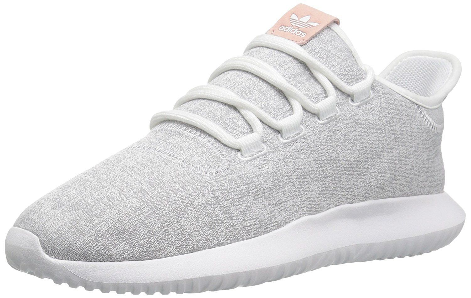 ADIDAS TUBULAR SHADOW LOW SNEAKERS WOMEN SHOES WHITE GREY Y9735 SIZE 8 NEW
