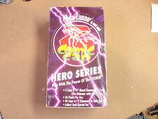 Z COMIC CAPS HERO SERIES POWER OF STORM POGS/MILKCAPS UNOPENED BOX (36) PACKS
