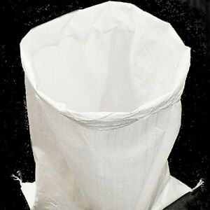 "1000 Woven Polypropylene Builder Rubble Sacks Bags 20"" x 30"""