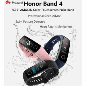 "New Huawei Honor Band 4 Wristband AMOLED Color Heartrate 0.95"" Touchscreen US"