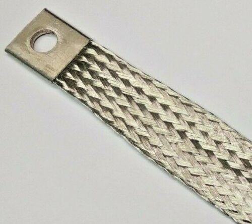 Motor Masseband 195 mm lang 19mm breit 2,5 stark Massekabel Batterie Band Erdung