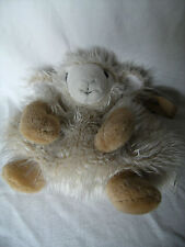 """child's sheep backpack, Richard Lang & Son product, soft  cuddly and cute 11"""""""