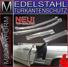 Mercedes sl SLC r107 w107 türkantenschutz acero inoxidable 280sl 350sl 500sl 450slc