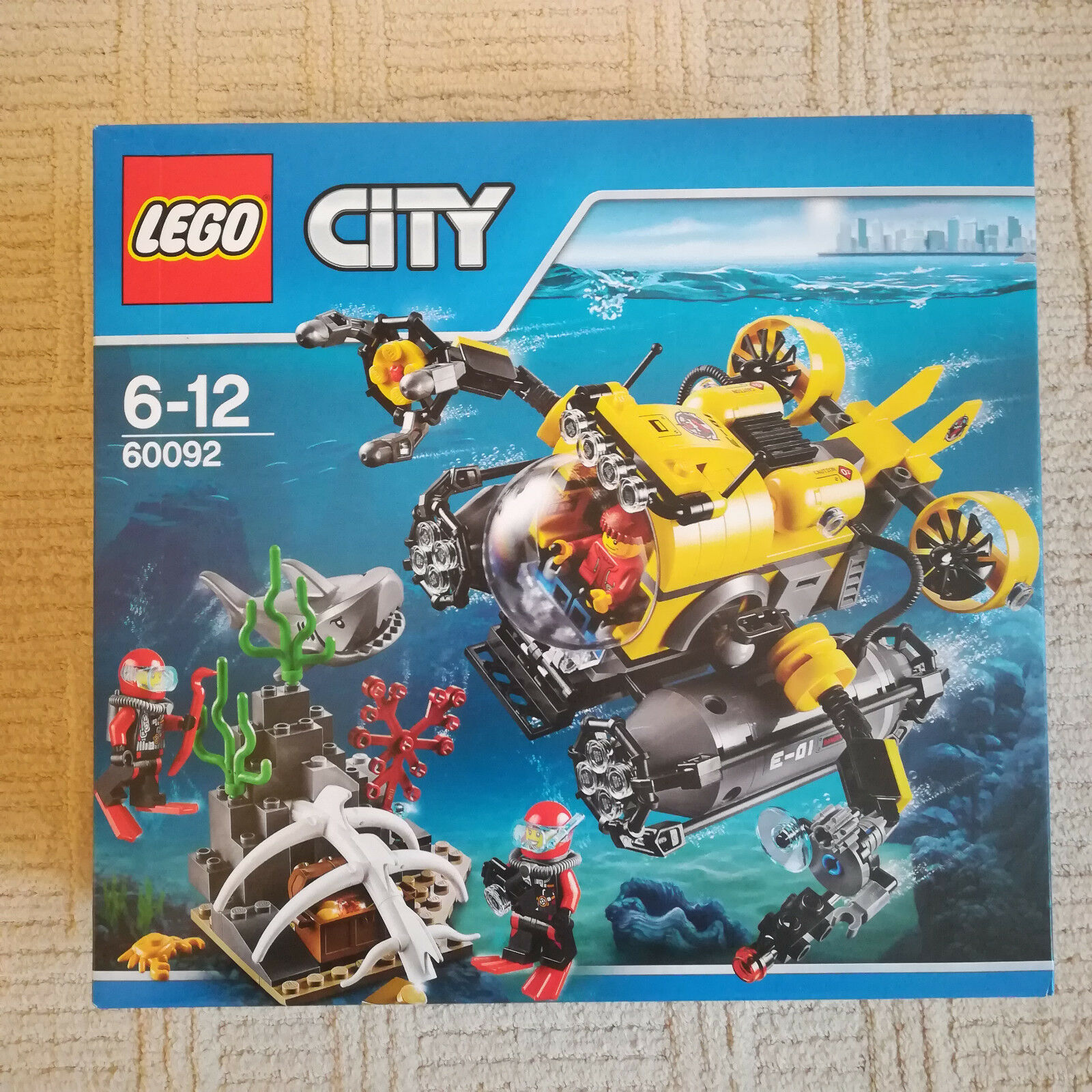 LEGO City 60092 DEEP SEA SUBMARINE - Brand New - Deep Sea Explorers