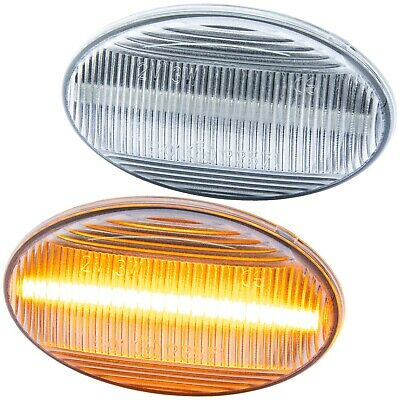 7233 LED SEITENBLINKER für SMART FortwoTyp 450 452BJ 1998-2007 KLARGLAS