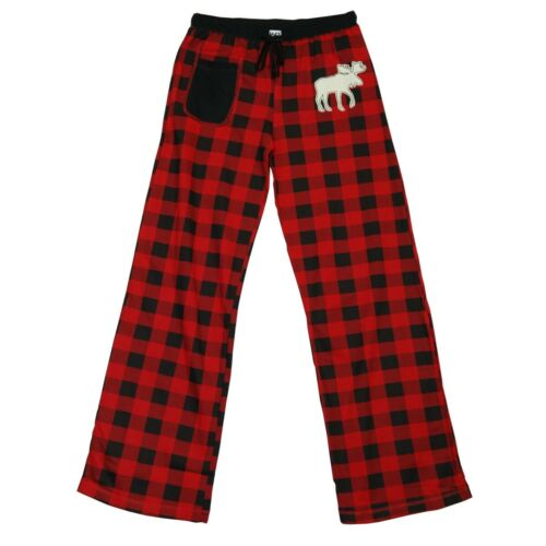 LazyOne Damen Tailliert Moose Plaid Pyjama-Hosen