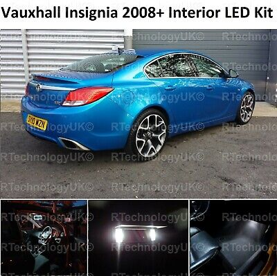 2018 NEW VAUXHALL INSIGNIA 2008 WHITE INTERIOR UPGRADE ERROR FREE LED LIGHT KIT