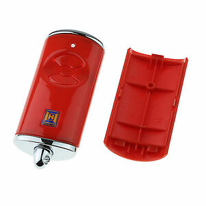 h rmann handsender geh use hse2 bs rot ohne platine ohne batterie garagentor ebay. Black Bedroom Furniture Sets. Home Design Ideas