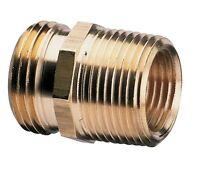 Nelson Brass Industrial Pipe And Hose Fitting For Female Hose To 3/4-inch Female