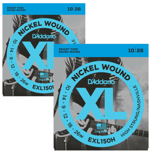 D/'Addario EXL150H High Strung//Nashville Tuning Electric Guitar Strings X2 SETS