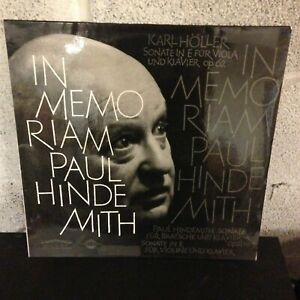 Holler-Hindemith-In-Memoriam-VG-Vinyl-Colosseum-Records