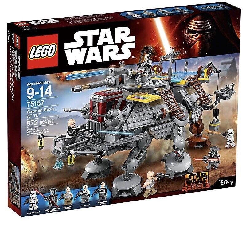 *BRAND NEW* Lego Star Wars Set  75157 Captain Rex's AT-TE *RETIrosso*