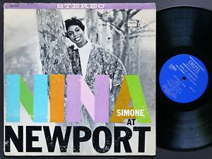 NINA-SIMONE-Nina-At-Newport-LP-COLPIX-RECORDS-SCP-412-US-1960-JAZZ-STEREO