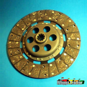 CDS5901-Clutch-Disc-Massey-Ferguson-MF-35-65-135-165-Tractor-with-11in-Dual