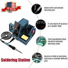 Soldering Iron Station Weller Temperature Control Rapid Heating Bracket Kit Us