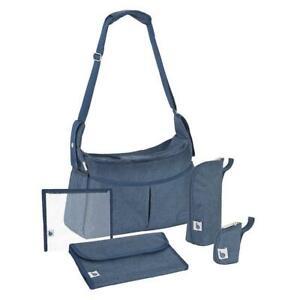 BabyMoov-Urban-Changing-Bag-Melanged-Blue-Includes-Accessories