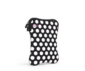 BUILT-Neoprene-Sleeve-for-9-10-inch-e-reader-or-Tablet-Big-Dot-Black-and-White