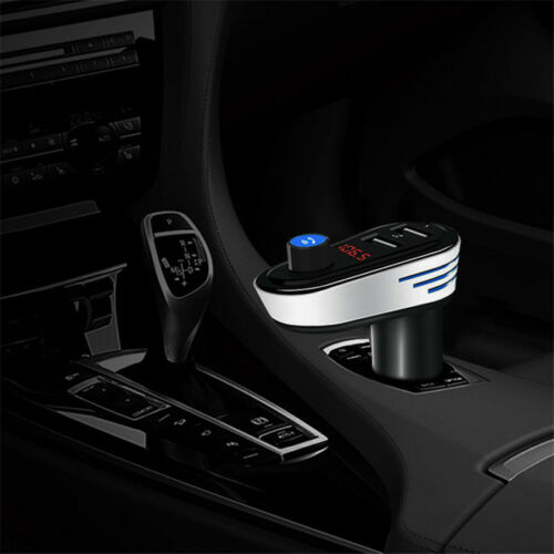 2USB Car MP3 Player FM Transmitter Bluetooth Wireless Radio Adapter Charger