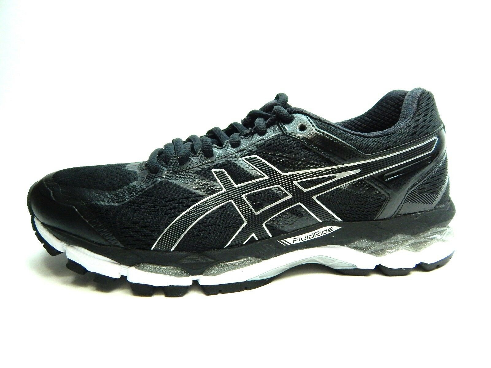 ASICS SURVEYOR 5 T6B4N 9099 BLACK ONYX 7 WEISS MEN Schuhe SIZE 7 ONYX TO 13 b6fb2a