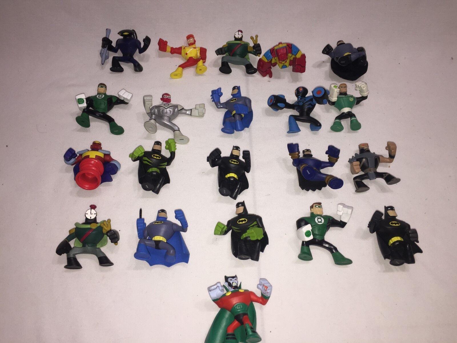 DC Universe azione League Brave e  The Bold azione cifra Lot (21) HTF Sinestro  profitto zero