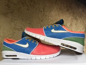 Nike SB Janoski Max Concepts Mosaic Holy Grail Stained Glass Sz 13 749678-614