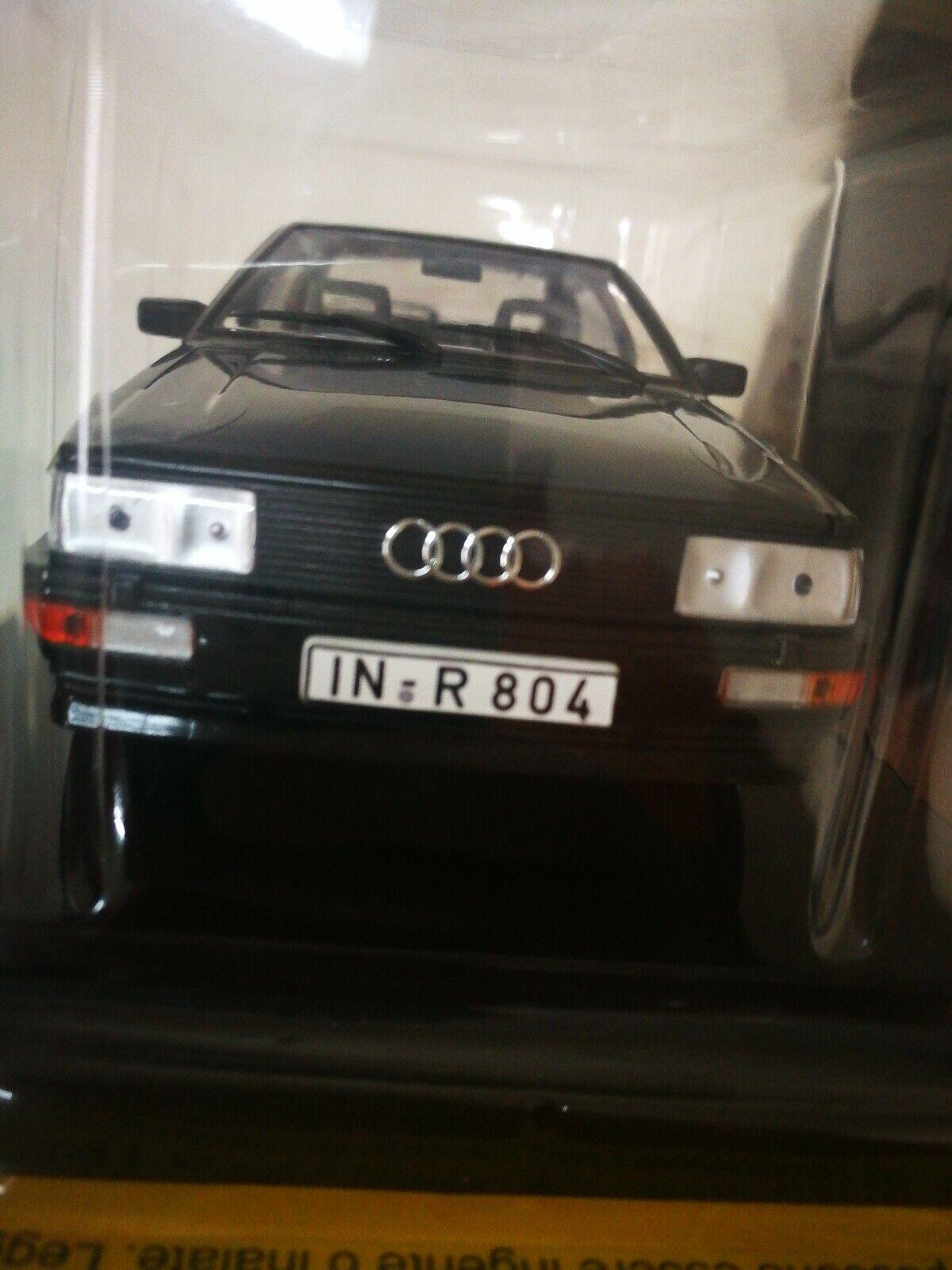 Modellino Audi 4  1986 sc. 1 24 Fabbri