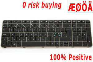 For-HP-Envy-17-1000-17-1080eo-17-1190eo-17-2092-Keyboard-Nordic-Swedish-Backlit