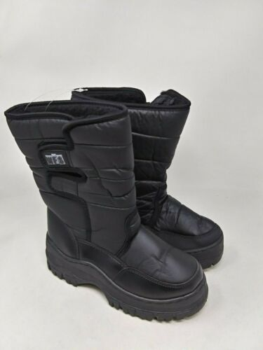 New Kids Youth World Famous Snow Jogger Boots Black M29