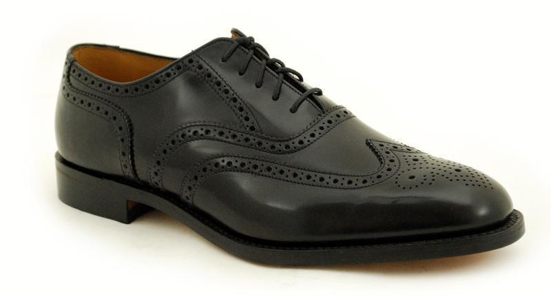 in vendita scontato del 70% Loake quadro cucita Premium Scarpa Uomo 5 Eye Eye Eye nero Polished scarpe 758b2  sport caldi