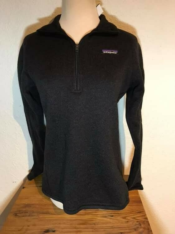Women's PATAGONIA 1 2 Zip POLO Base Layer Sweater Size Small S NWT's  - Warm