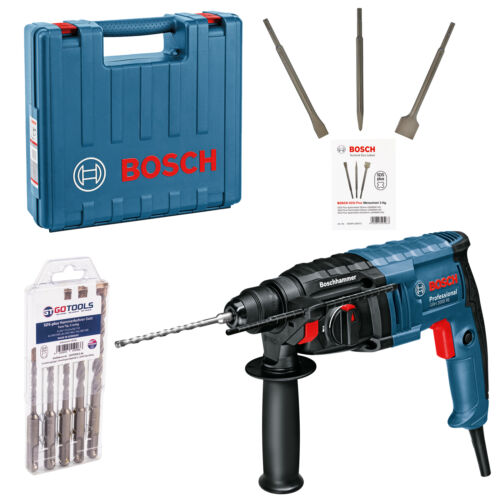 Bosch Hammer Drill Chisel Hammer GBH 2-20 D SDS-Plus Accessories in craftsmen Suitcase