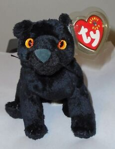 Ty Beanie Baby ~ MIDNIGHT the Black Panther (5.5 Inch) MWMT ... d346976ed35