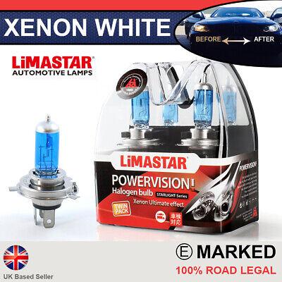 Jaguar X-Type 100w Clear Xenon HID Low Dip Beam Headlight Headlamp Bulbs Pair