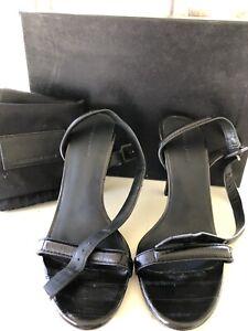 Alexander-Wang-Antonia-Black-Heels-Size-40