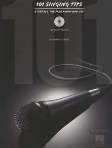 101 Chant Conseils Stuff All The Pros Know & Utilisation Musique Vocale Book/cd-afficher Le Titre D'origine Et D'Avoir Une Longue Vie.