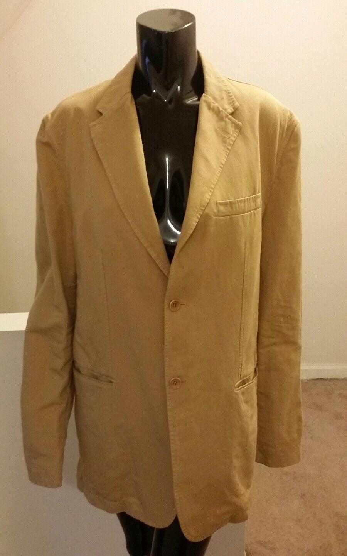 Banana Republic Mens Linen Size 44R Blazer