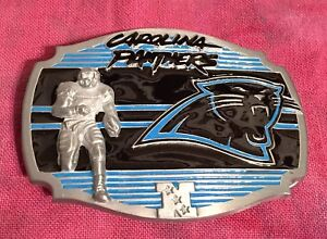 Carolina Panthers NFL Football Officially Licensed Belt Buckle
