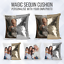 Personalised-Sequin-Cushion-Magic-Mermiad-Photo-Reveal-Pillow-Case-amp-Insert thumbnail 1
