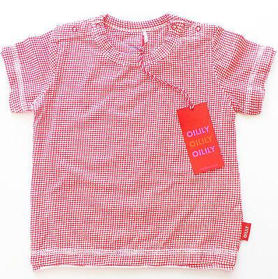 T-Shirt Gr.68 Oilily NEU rot creme jersey baby sommer SSV