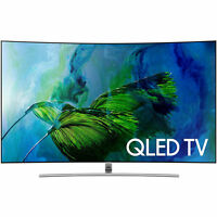 Samsung Electronics Qn65q8c Curved 65-inch 4k Ultra Hd Smart Qled Tv 2017 Model